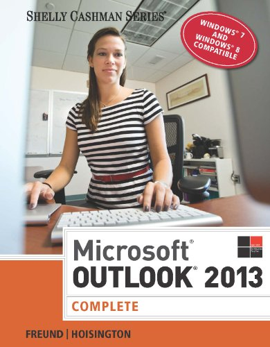 Microsoft Outlook 2013: Complete (Shelly Cashman) Pdf