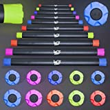 2, 3, 4, 5, 6, 7, 8, 10 And 12kg Weighted Aerobic Bars Fitness Core Balance Body Bar Strength Training★