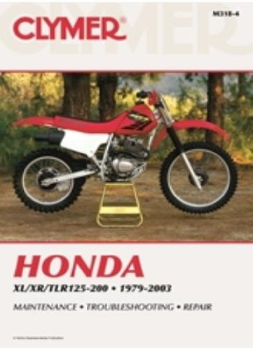 amazon com 86 02 honda xr200 clymer service manual misc automotive rh amazon com xr200 service manual xr200 service manual download free