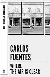 Where the Air Is Clear (Mexican Literature Series)