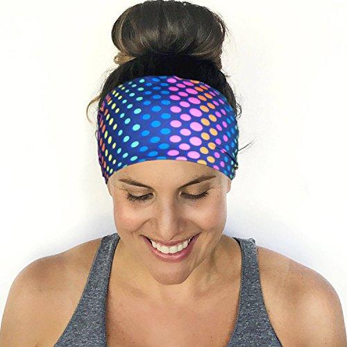 Workout Headband Extra Wide Headband Running Headband Fitness Headband No Slip Headband Yoga Headband Women Head Wrap Wide Headband