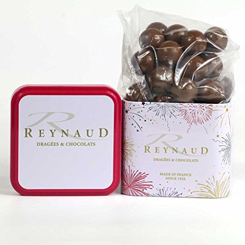 Reynaud, Caramel & Milk Chocolate Covered Crispy Cereals, 100g Gift Tin