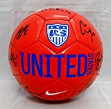 US Women's Autographed Full Size Team USA Nike Soccer Ball w/ 8 Signatures- JSA W Auth