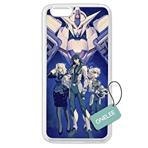 iPhone 6 Plus Case, Onelee [Scratch Resistant] Japanese Anime Series Mobile Suit Gundam iPhone 6 Plus 5.5 by ruishername