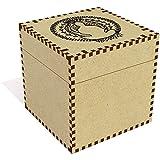 Azeeda Large (81mm) 'Meditation Motif' Jewellery / Trinket Box (JB00044097)