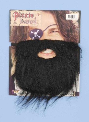 Forum Novelties Men's Black Pirate Beard -