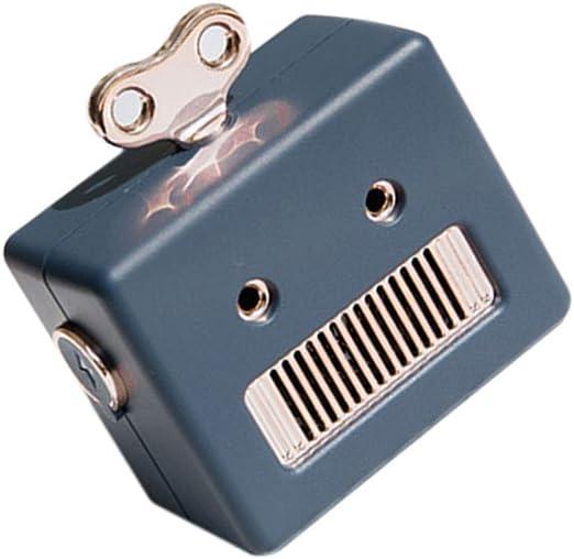 Busirde Mini portátil Retro del Robot inalámbrico Bluetooth Altavoz de Graves de Columna de Altavoces de Sonido de Alta definición Blue 60x50x35mm: Amazon.es: Hogar