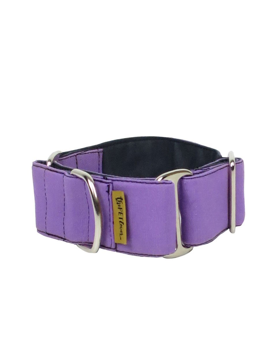 Collar Martingale para Galgos ThePetLover Morado
