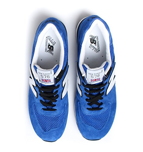 New Balance Made In England Royal Blue Suede Trainers