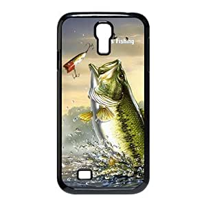 Fishing Bass Funny Style SamSung Galaxy S4 I9500 Case Personalized Fish Hard cover