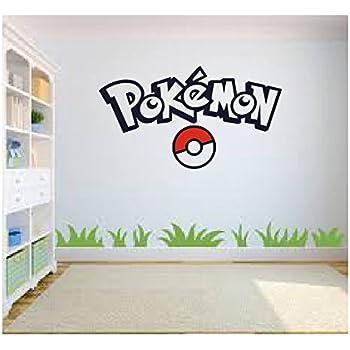 Great Pokemon Go Wall Art, Pokemon Wall Art, Wall Sticker Decal, Kids Room,