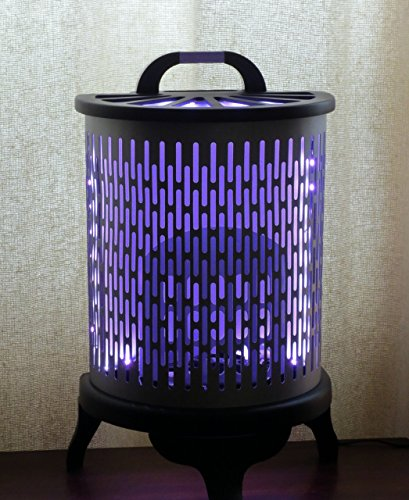 Color Me Blissed - color-changing LED light made from vintage heater