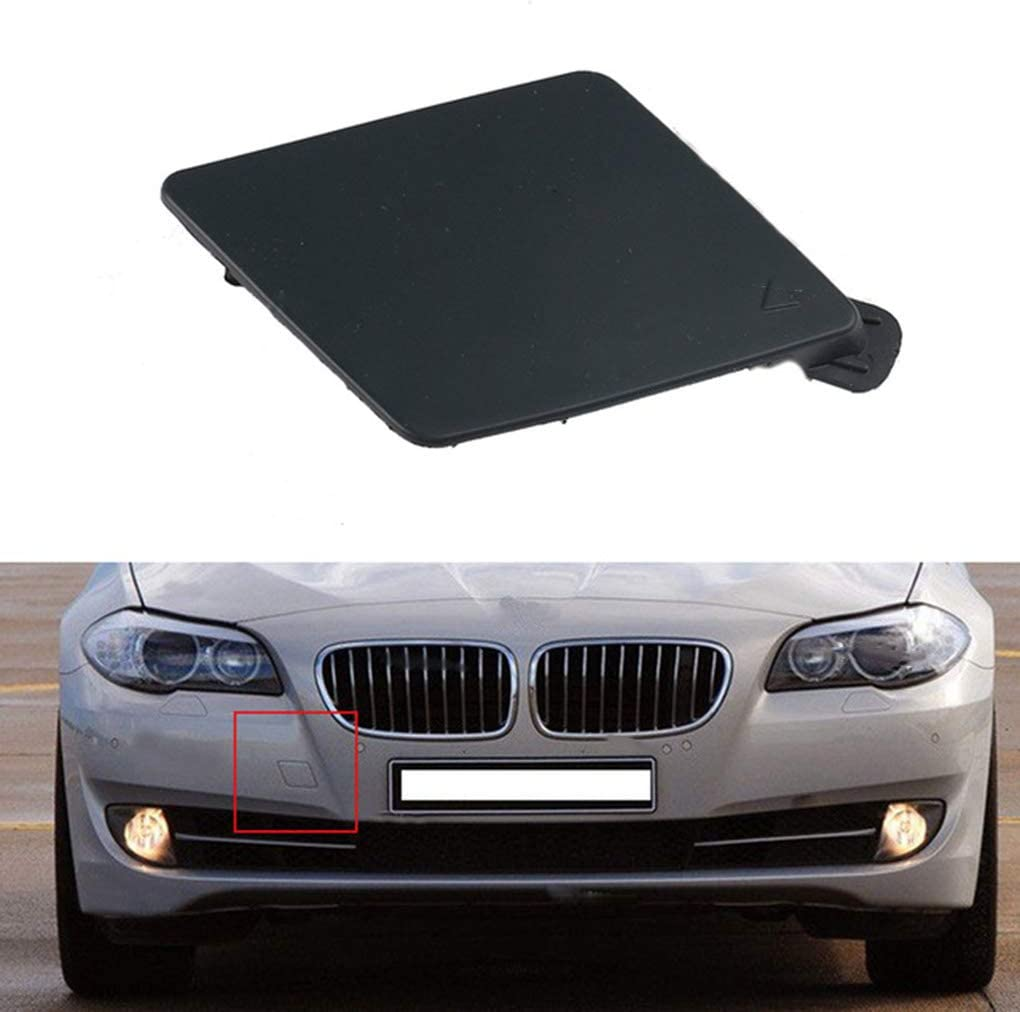 Hotaluyt Replacement for F10 F18 Front Bumper Spoiler Towing Eye Hook Cover 51117246868