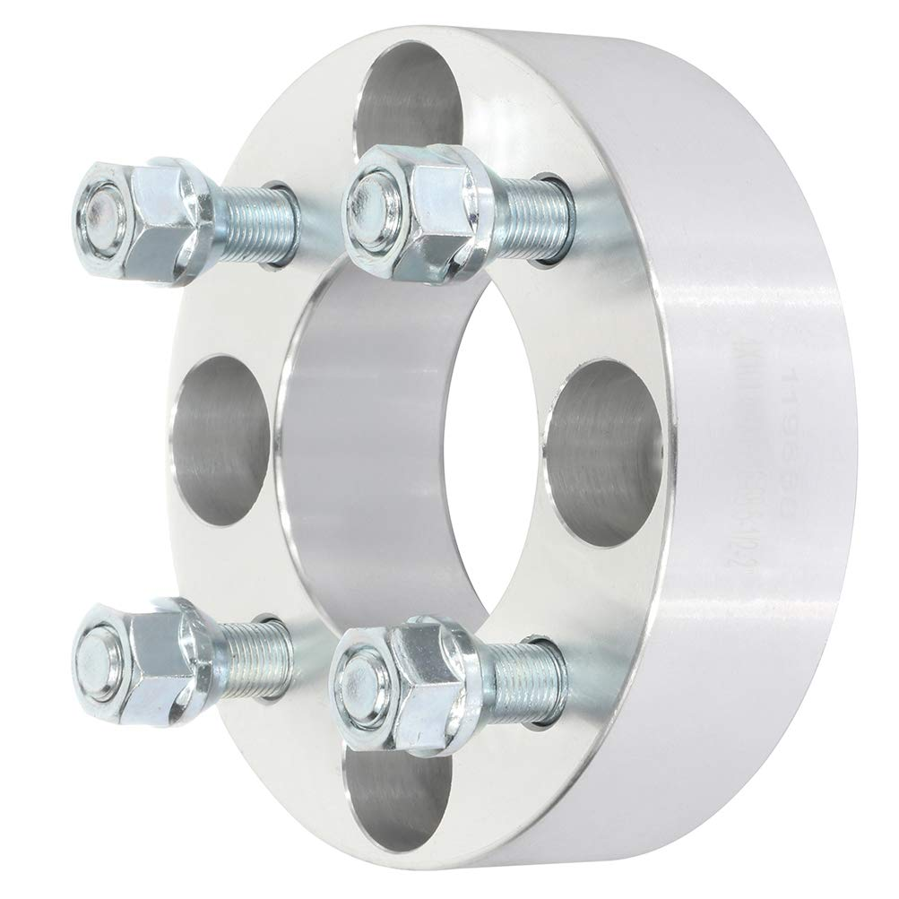 ANGLEWIDE 4x101.6 2 inch Wheel Spacers Adapters 4 Lug 1//2 Studs 68.5mm fits for Polaris Xpress 400L 300 Polaris Xpedition 425 Polaris Xpedition 325