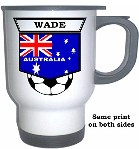 Paul Wade (Australia) Soccer White Stainless Steel, used for sale  Delivered anywhere in USA
