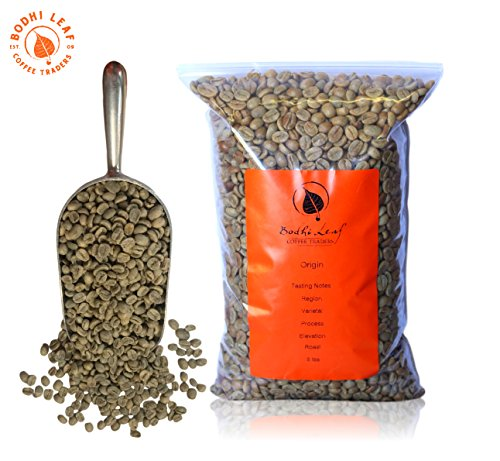 (5 lbs) Burundi Masha Raw Green Coffee Beans for Roasting; Complex, Peach, Red Wine, Sweet