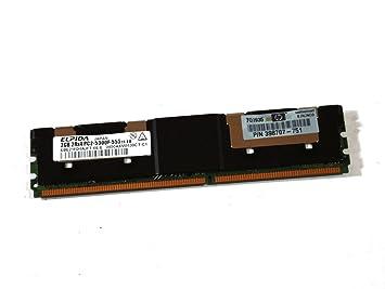 Amazon.com: Original de HP Elpida computadora memoria RAM ...