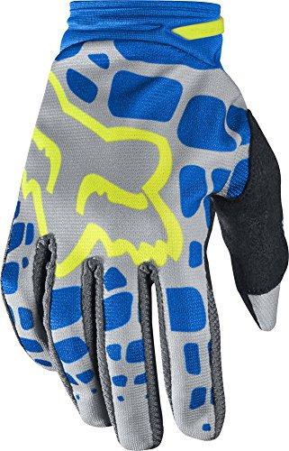 Fox Racing Dirtpaw Women's MotoX Motorcycle Gloves - Grey/Blue / X-Large ()