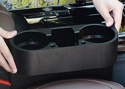 Noir multifonction Grande de voiture auto Seat c/ôt/é Organiseur van de stockage boire Bouteille Peut Tasse mug support