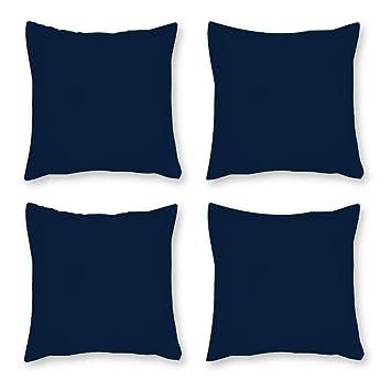 Amazon.com: FabricMCC - Juego de 4 fundas de almohada para ...
