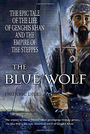 book cover of The Blue Wolf