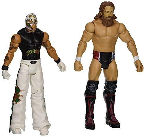 WWE WrestleMania 31 Rey Mysterio vs. Daniel Bryan Figure 2-Pack (Rey Mysterio Wwe)