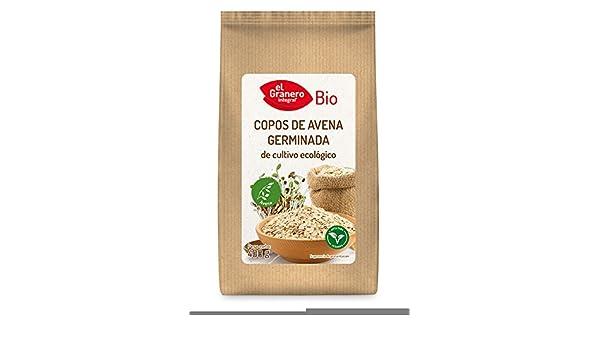 EL GRANERO COPOS DE AVENA GERMINADA BIO, 400 g: Amazon.es: Salud y cuidado personal