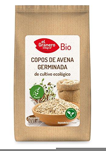 EL GRANERO COPOS DE AVENA GERMINADA BIO, 400 g