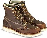 "Thorogood 814-4203 Men's American Heritage 6"" Moc Toe, MAXwear Wedge Non-Safety Toe Boot, Trail Crazyhorse - 8 2E US"