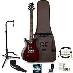 prs se custom 24 left handed electric guitar with gig bag includes chromacast stand strap. Black Bedroom Furniture Sets. Home Design Ideas