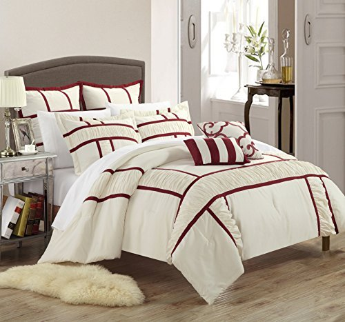 BETTER HOMES AND GARDENS Chic Home Tuscan 7-Piece Comfort...