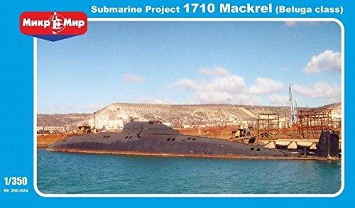 ***Soviet submarine Project 1710 Mackrel (Beluga class) 1/350 Micro Mir 350-024