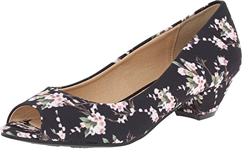 CL by Chinese Laundry CL by Laundry Women's Home Run Black Flower 8.5 M US