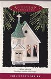 Nostalgic House & Shops Town Church 12th in Series 1995 Hallmark Ornament QX5159