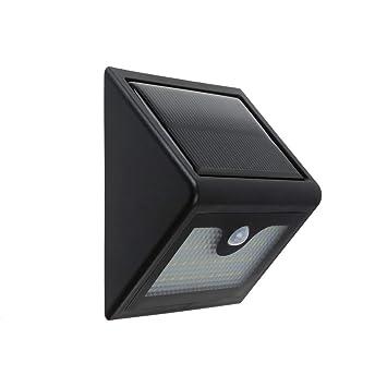 LJS-BQ Luz Solar con Sensor de Movimiento, Luz de Seguridad eléctrica de 28