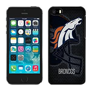 Custom Gift Special Iphone 5c Case NFL Denver Broncos 12 Team Logo Sports Cellphone Protector