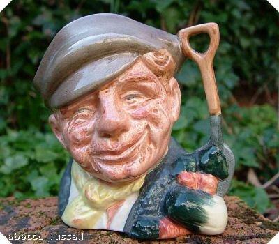 Royal Doulton Toby Jug Character Jug The Gardener D6634