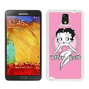 Hot Sale Samsung Galaxy Note 3 Case ,Beautiful Unique Designed Case With Betty Boop White Samsung Galaxy Note 3 Cover