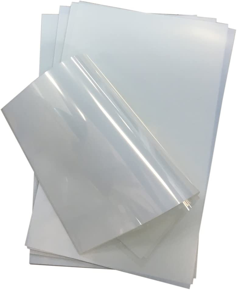 "Waterproof Inkjet Transparency Film Screen Printing Transparency Film 13"" x 19"" 100 Sheets / pack -US Stock"