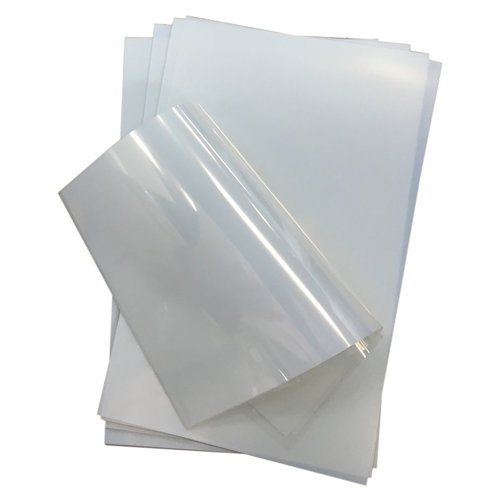 10 Sheets 13 x 19 Waterproof Inkjet Milky Transparency Film for Silkscreen Printing, lithographic Printing,Inkjet Plate Making,Offset Printing TOP123