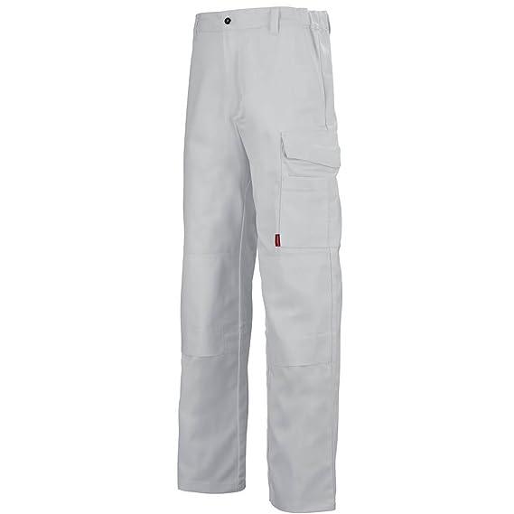 Pantalon Blanc Multipoches Lafont De Travail Homme gIbyf76vmY