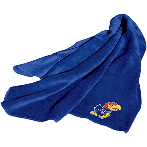 NCAA Kansas Jayhawks Fleece Throw