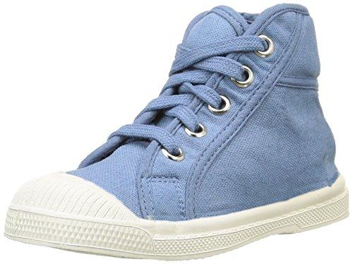 Bensimon Tennis Mid - Zapatillas Altas De Deporte Para Exterior, Unisex Infantil Azul (563 Denim)