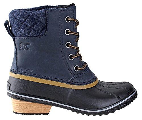Sorel Slimpack II Lace Boot - Womens Collegiate Navy/Glare,