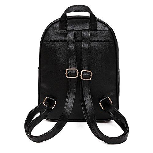 al Mujer Mounter para DH Hombro Bolso Bags ER24G Negro Gris GB54E SB Negro wOInrq0FxI