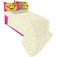 Emojination MA6438 Happy Sheet Set, Twin
