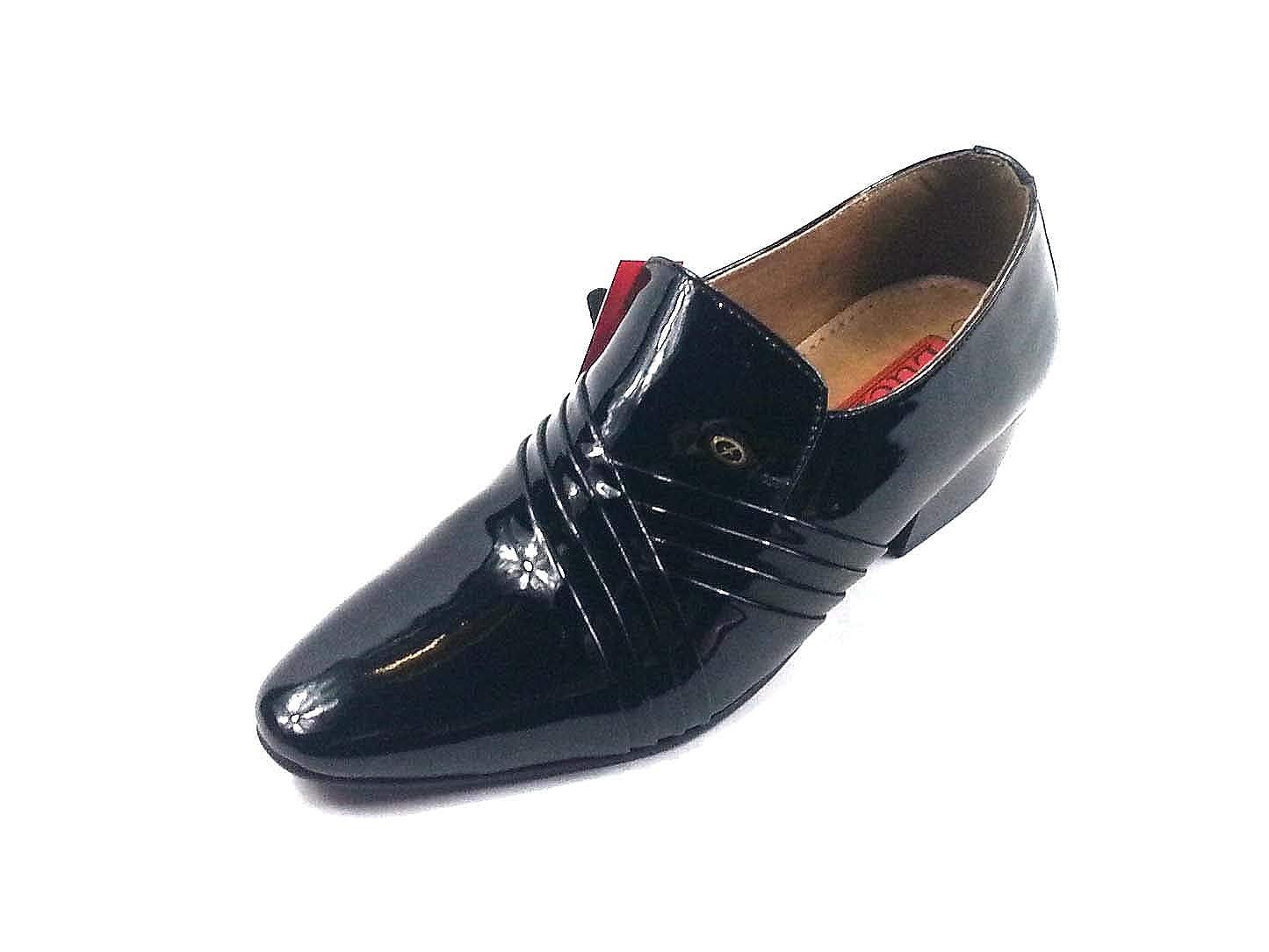 S S S & B Footwear - Zapatos de Cordones de Charol para Hombre 6addc4