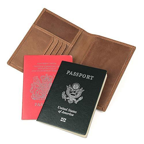 Brass Pelle Documenti In Portafoglio Porta Rfid Passaporto dzsw Da Biglietti Viaggio Zjp Borsa Tw7AqHxg