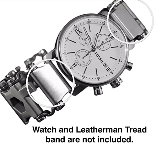 Leatherman Link watch adapter for Leatherman Tread (Lug size 18mm, Stainless Steel)