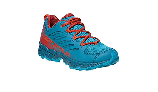 La Sportiva Jynx 36-40, Zapatillas de Senderismo para Mujer, Multicolor (Tropic Blue/Tangerine 000), 37 EU: Amazon.es: Zapatos y complementos